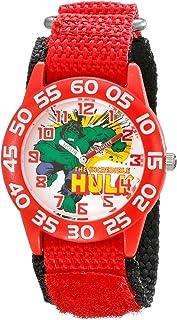 Marvel Kids' W001725 Hulk Analog Display Analog Quartz Red Watch