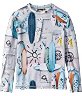Molo - Neptune Long Sleeve Rashguard (Little Kids/Big Kids)