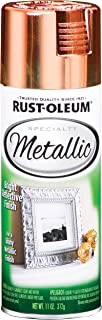 Rust-Oleum 1937830-6 PK Specialty Metallic 1937830 Spray Paint 11 oz, Copper, 6-Pack,