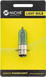 NICHE Headlight Bulb For Yamaha Blaster 200 Grizzly 700 Kodiak 450 700 Kawasaki Mule 300 KFX400 Suzuki King Quad 700