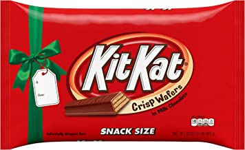 KIT KAT Holiday Candy Wafers Bars Snack Size Gift Box 2 lb.