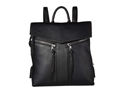 Botkier Trigger Nylon Backpack (Black) Backpack Bags