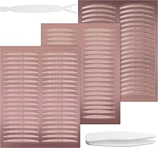 メッシュ アイテープ 720枚[三タイプ選べる] 二重まぶた アイプチ水で貼る 極細 素肌色 自然 二重アイテープ 二重まぶた 目立たない テープ (半月形)