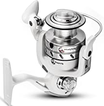 Fishing Spinning Reel with 15LB (7kg) Front Drag - Lightweight Reels, 8+1 Ball Bearings, 5.5 Gear Ratio - Smooth, Powerful Operation - It's Ideal for Gamefish in River, Ocean, Freshwater, Saltwater,