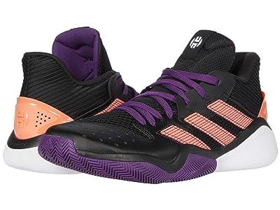 adidas Harden Stepback (Core Black/Glory Purple/Signal Coral) Basketball Shoes