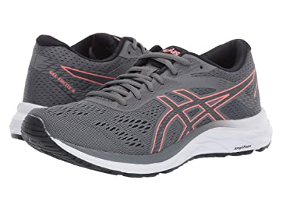 ASICS GEL-Excite(r) 6 (Steel Grey/Papaya) Women