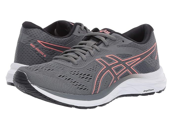 ASICS  GEL-Excite 6 (Steel Grey/Papaya) Womens Running Shoes