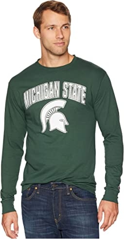 Michigan State Spartans Long Sleeve Jersey Tee