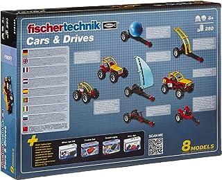 مجموعة بناء سيارات ومحركات من فيشر تكنيك