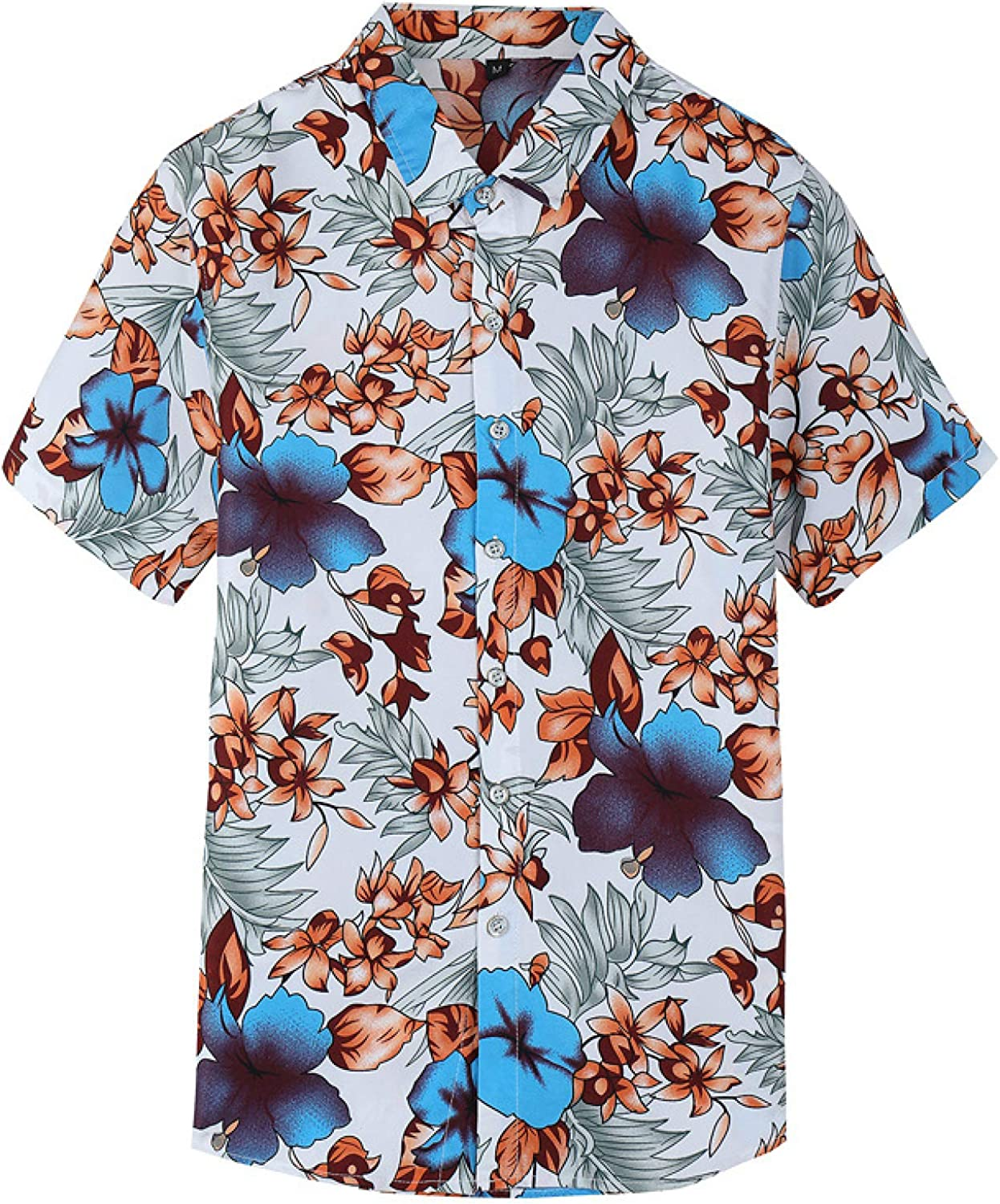 Luandge Men's Limited time sale Trendy Printed Flower La Shirts Streetwear Fixed price for sale Fashion