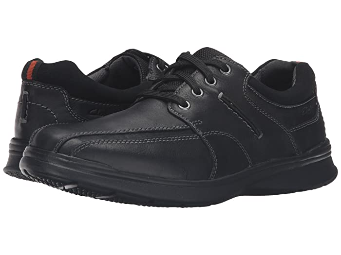 Clarks  Cotrell Walk (Black Oily) Mens Shoes