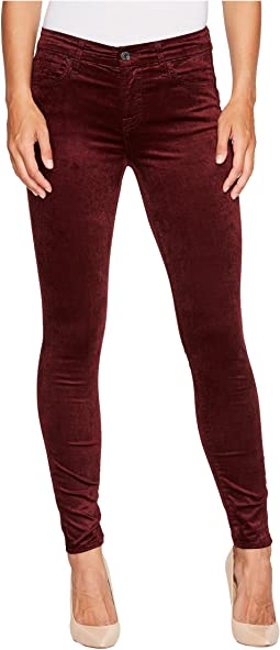 7 For All Mankind - Velvet Ankle Skinny in Scarlett