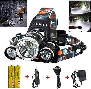 Best LED Headlamp Flashlight 10000 Lumen - IMPROVED LED...