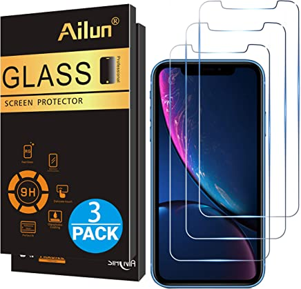 Ailun Glass Screen Protector for iPhone XR 6.1 Inch 2018...