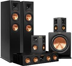 Klipsch RP-250F Home Theater System Bundle (Ebony) with Yamaha RX-A760