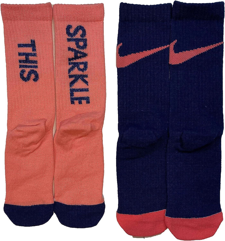 Nike Little Kids' Lightweight Crew Socks 2 Pack