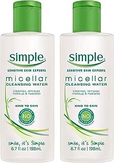 micellar cleansing water simple