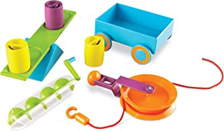 Learning Resources Stem Simple Machines Activity Set, 19 Pieces
