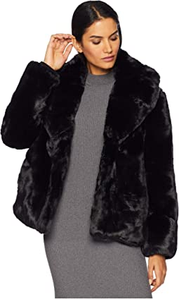 Short Faux Fur Jacket R8671