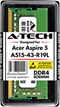 A-Tech 8GB Memory RAM Stick for Acer Aspire 5 (A515-43-R19L) Slim Laptop - DDR4 2666MHz PC4-21300 1.2V SODIMM Upgrade Module