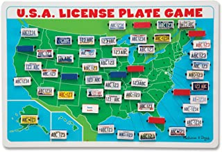 magnetic license plate game