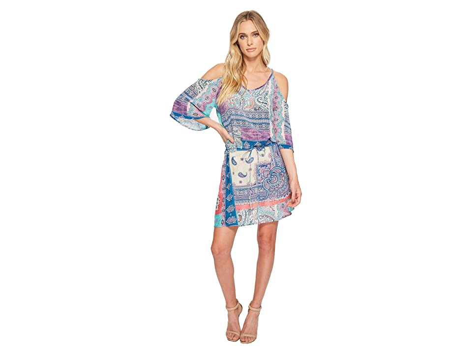 Tolani Adrienne Tunic Dress (Paisley) Women