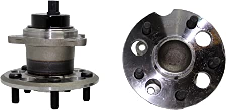 Brand New (Both) Rear Wheel Hub and Bearing Assembly for 2004-10 Toyota Sienna FWD 5 Bolt W/ABS (Pair) 512280 x2