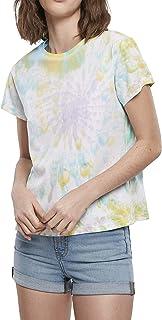 Urban Classics Women's T-Shirt Ladies Tie Dye Boyfriend Tee