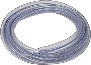 Sealproof Unreinforced PVC Food Grade Clear Vinyl Tubing, 3/8-Inch ID x 1/2-Inch OD, 10 FT, Made in USA