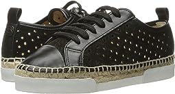 Perforated Velvet Sneaker