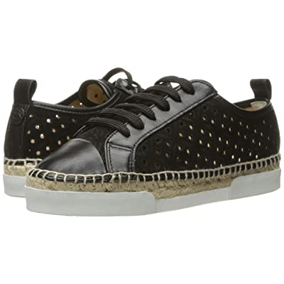 Sonia Rykiel Perforated Velvet Sneaker (Black) Women