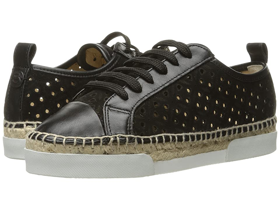 Sonia Rykiel Perforated Velvet Sneaker (Black) Women