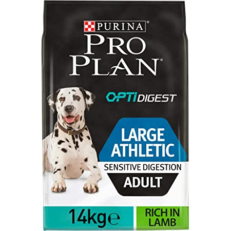 Purina ProPlan Large Adult Athletic Digest pienso para perro Adulto con Cordero 14 Kg