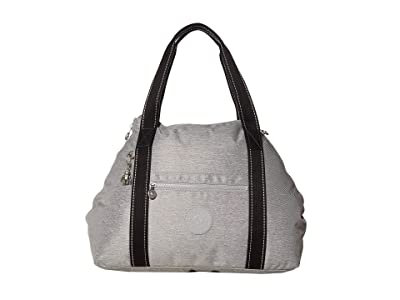 Kipling Art Medium Tote Bag (Chalk Grey) Handbags