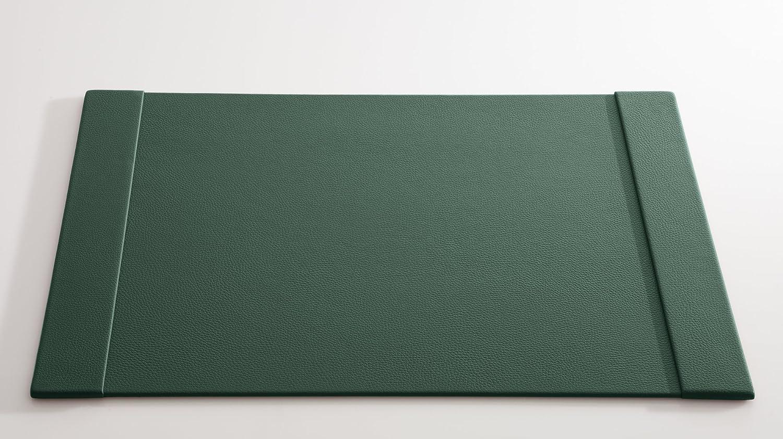 C. Matthey Schreibunterlage aus feinem feinem feinem italienischen Rindleder 45 x 63 cm, 0,6 ,cm dick mit 2 Einsteckleisten je 6cm breit, Farbe  grün - Handmade in Germany B01N3KD0PK     Outlet Store Online  1a8680