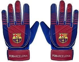 FC Barcelona Official Football Gift Goalkeeper Goalie Gloves