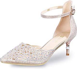 Women's IN2 Candice Wedding Rhinestones Sequins Low...