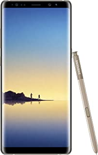 "Samsung Galaxy Note 8 Single-Sim Sm-N950Fzkabtu - 6.3"" Inch Android (Gsm Only, No Cdma) Factory Unlocked 4G/Lte Smartphone..."