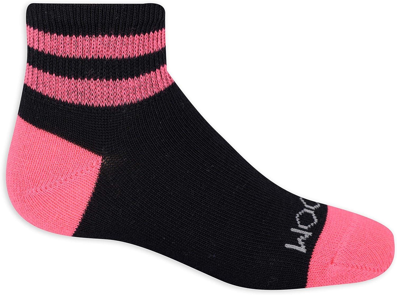 Varsity Stripe Ankle Socks Fruit of the Loom girls 10 Pair Core