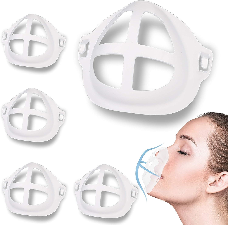 Ranking TOP14 Luxury goods 3D Mask Bracket Face Holder Breathing Smoothly Frame Nose