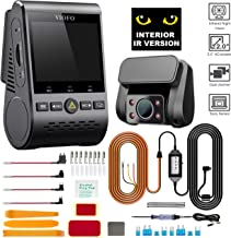 VIOFO A129 IR Interior Dashcam Rideshare Bundle (New 2019) 2 Channel 1080P Interior True Night Vision Dash Camera | WiFi GPS Built-in | Hardwiring Kit and Installation Kit Included