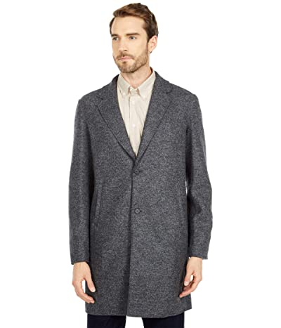 Billy Reid Boiled Wool Coat (Grey) Men