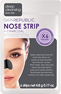 Nose Strips + Charcoal deep cleansing (6 pairs)