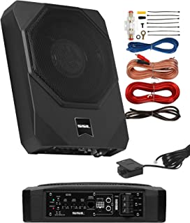 $164 » Sound Storm Laboratories US10K Amplified Car Subwoofer - 1000 Watts Max Power, Low Profile, 10 Inch Subwoofer, 8 Gauge Ins...