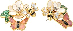 Kate Spade New York - Swamped Cluster Stud Earrings