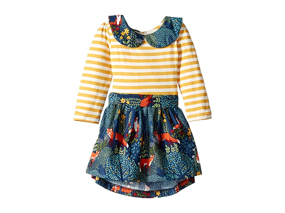 fiveloaves twofish Fox Abbie Dress (Infant) (Navy) Girl