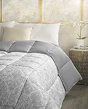 atenas home textile Nórdico Bergen Reversible Damasco/Liso, 300gr/m2 (Duvet Reversible) - Cama Individual 90cm o de 105cm - Color Beige