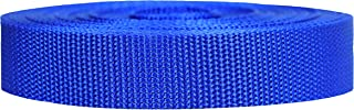 Strapworks Heavyweight Polypropylene Webbing - Heavy Duty Poly Strapping for Outdoor DIY Gear Repair, 1 Inch by 10, 25, or...