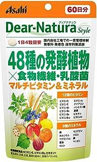 アサヒグループ食品 ディアナチュラスタイル 48種の発酵植物×食物繊維・乳酸菌 240粒(60日分)