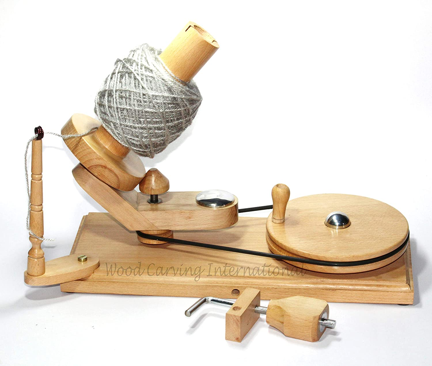 Hand Japan Maker New Operated Wooden New Shipping Free Yarn Ball Winder for Large Capacity Beech